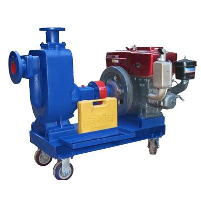 ZWC柴油机自吸排污泵