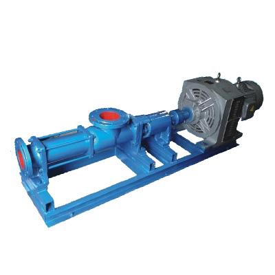 G型齿轮箱减速螺杆泵