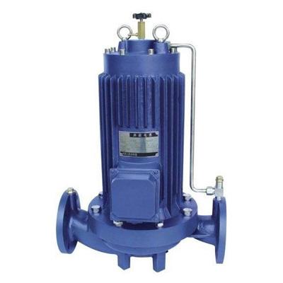 PBG屏蔽式管道离心泵